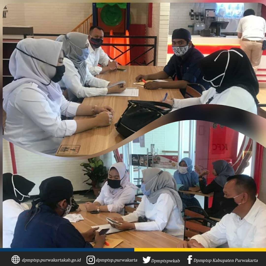 Pembinaan dan Pemantauan PMA/PMDN ke PT. Fast Food Indonesia (KFC)