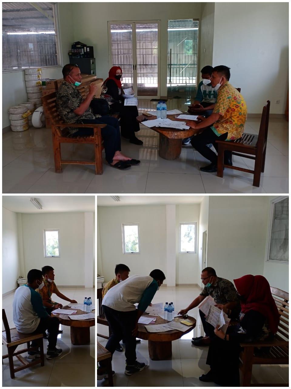 Bidang Pengendalian DPMPTSP melaksanakan kegiatan Pengawasan Pelaksanaan Penanaman Modal ke PT. Zora Putra Mas di Kecamatan Bungursari