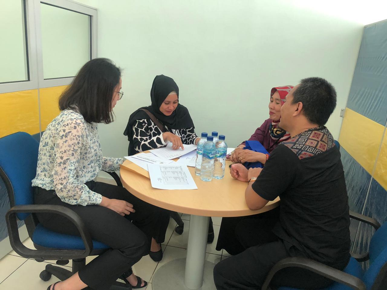 Koordinasi Data Kawasan PT. Singa Jaya Purwakarta