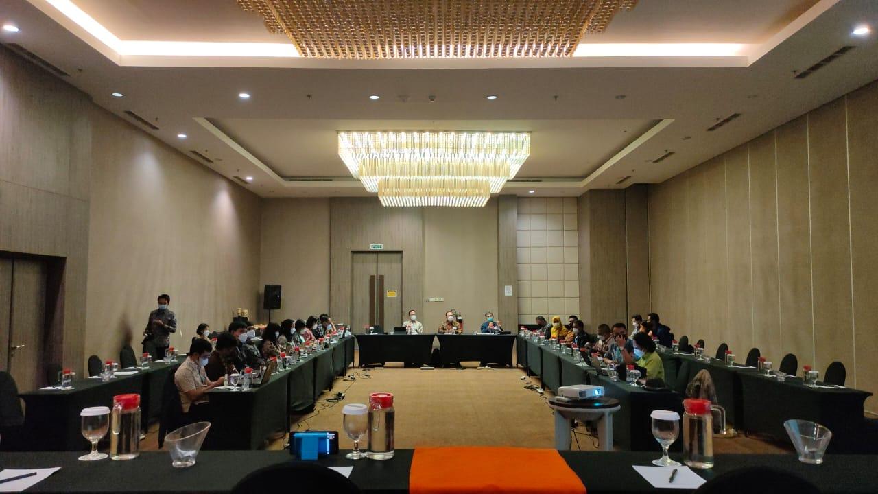Kegiatan Konsinyering Peta Proses Bisnis Pelayanan Publik Strategis di MPP Kab. Purwakarta dengan Deputi Bidang Pelayanan Publik Kementerian PANRB Bertempat di Hotel Harper Purwakarta