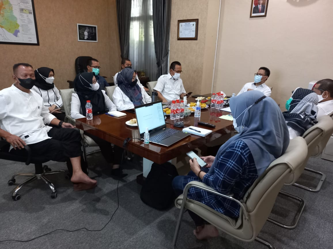 Selasa (03/08/2021) Rapat Teknis Persiapan Penilaian Kinerja Pelayanan Publik