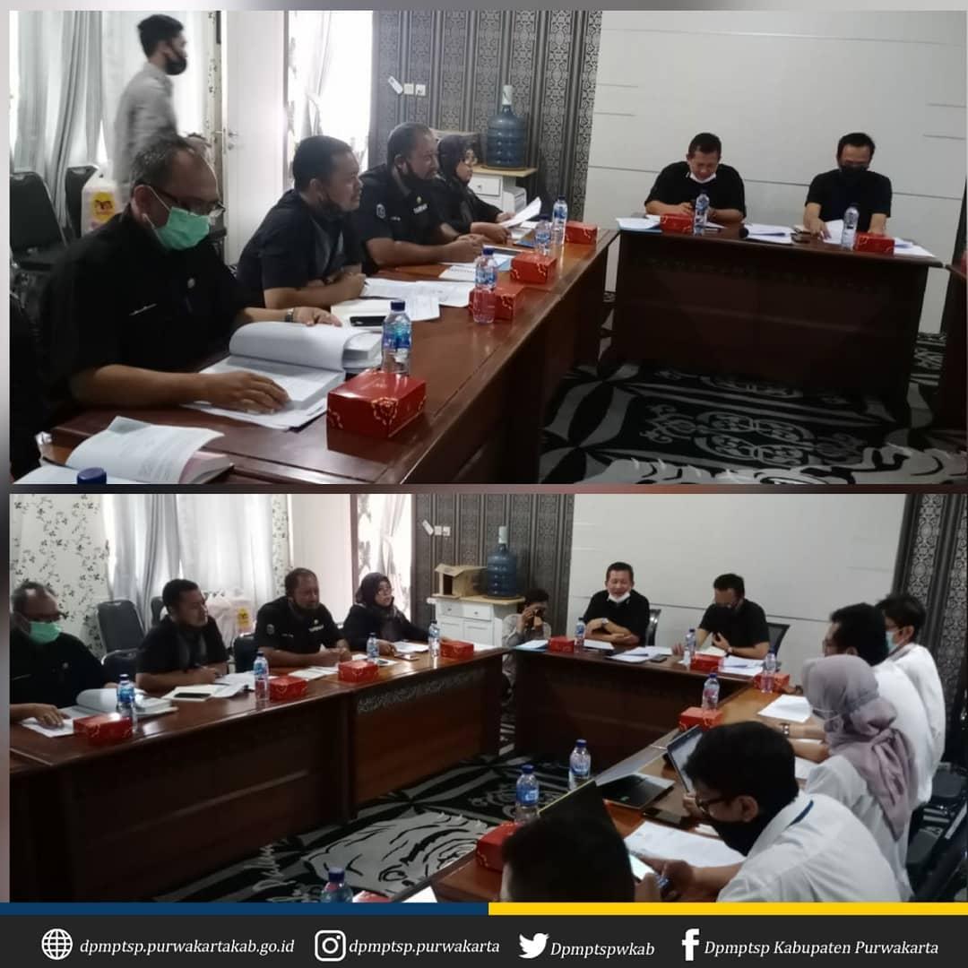Rapat Pembahasan Pelaksanaan Rencana Tata Ruang Wilayah (RTRW) dalam rangka Pengembangan Pembangkit Listrik Tenaga Surya (PLTS) Terapung Cirata 145 MWac