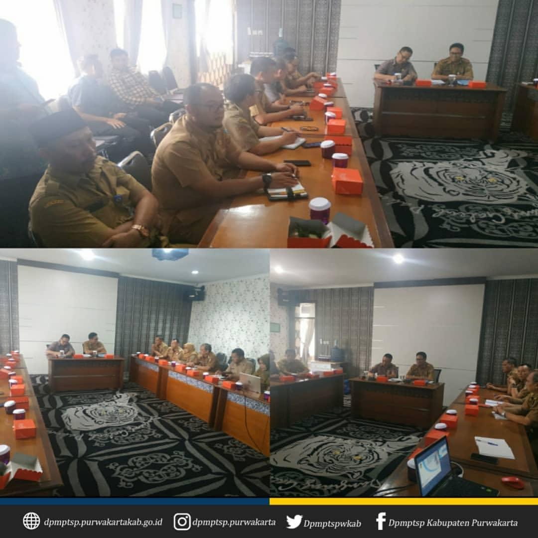 Kunjungan Kerja Pemerintah Kabupaten Serang dan Komisi I DPRD Kabupaten Serang