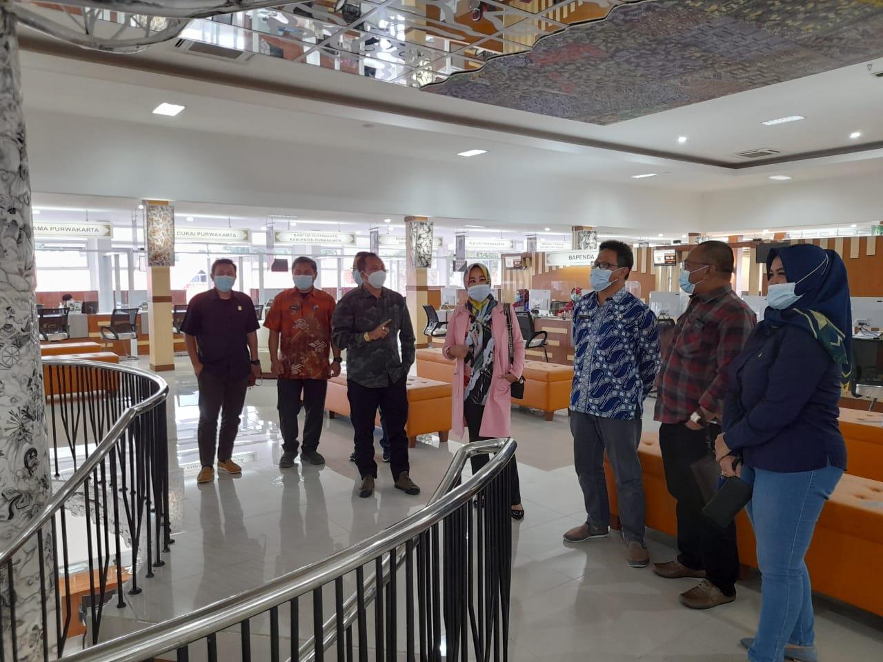 Kunjungan Kerja Komisi I DPRD Kabupaten Purwakarta Ke DPMPTSP Kabupaten Purwakarta