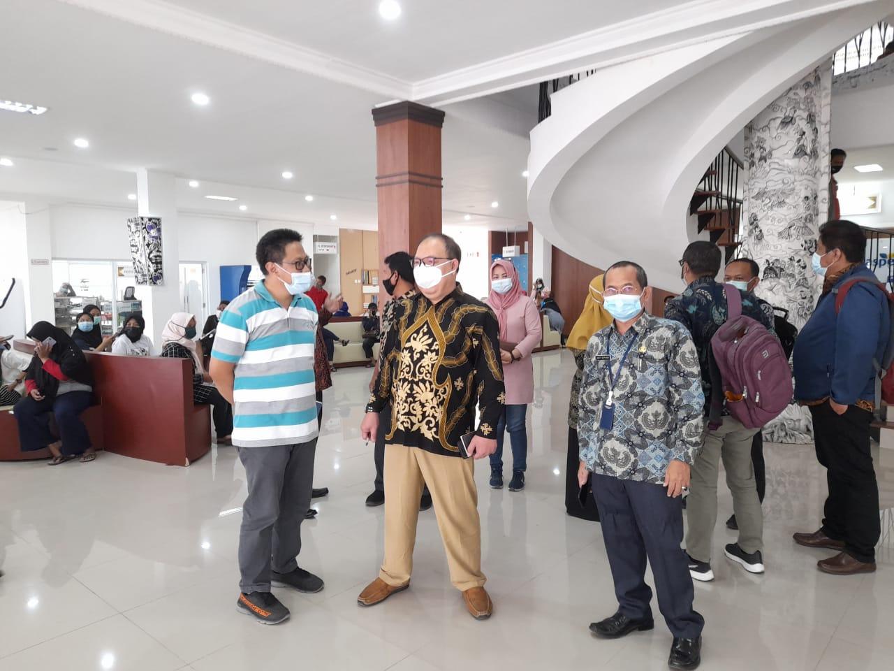 Peninjauan Tim KEMENPAN RB ke Mal Pelayanan Publik Bale Madukara Kabupaten Purwakarta